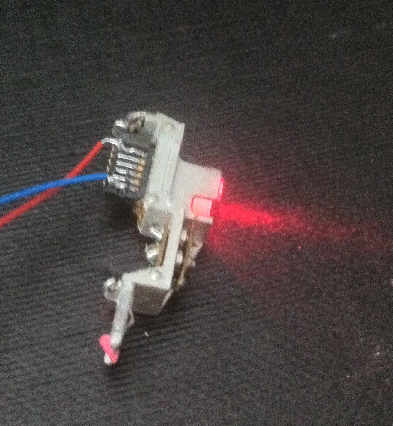 Лазер из двд рв