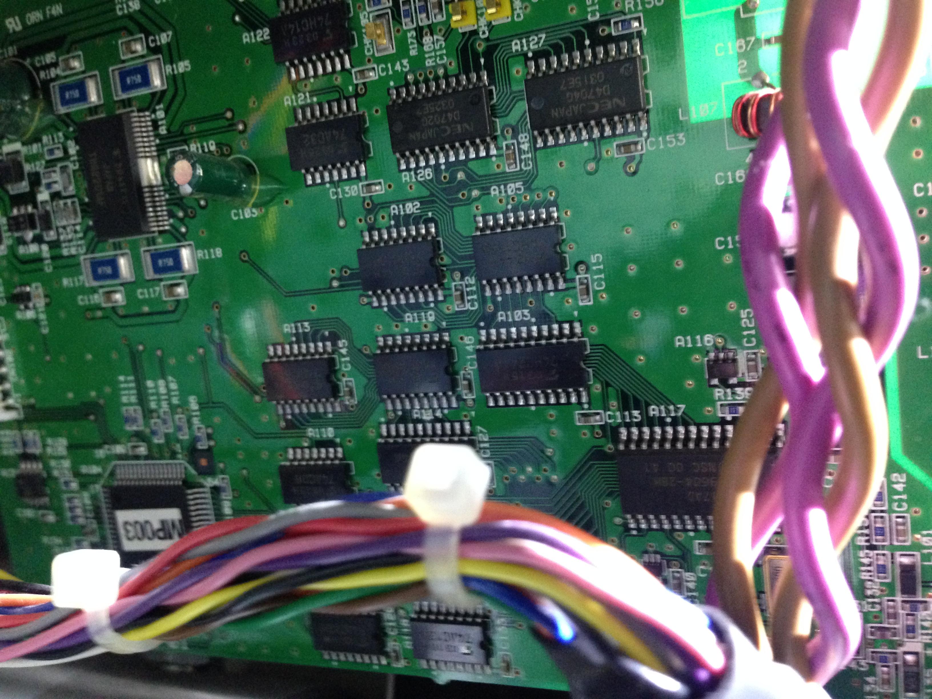 41J Blog » Blog Archive Keyence VE7800 PCB Pics - 41J Blog