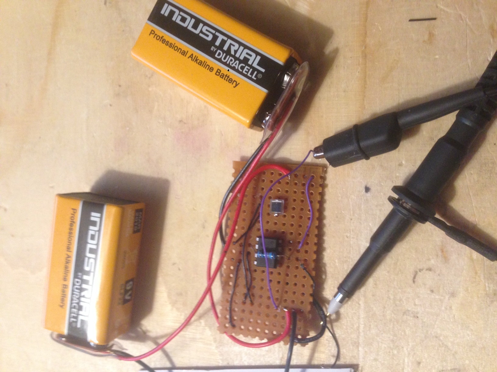 41j Blog Archive Photodiode Amplifiers Transimpedance The Pinout For An Lm741 Is Shown Below Build Them Up I May Not Use 741 But Another Opamp With A Similar Possibly Fet Input Basic Tia Circuit And