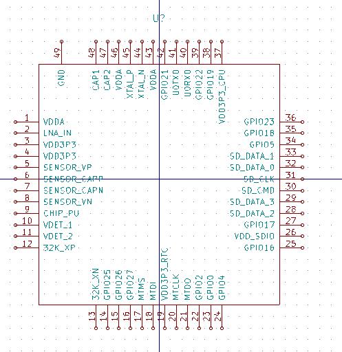 41J Blog » Blog Archive Kicad esp32 schematic symbol - 41J Blog